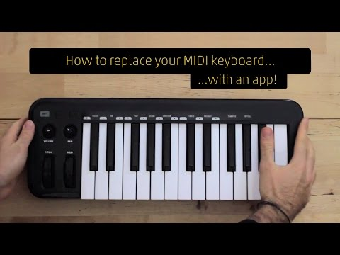 How to play scales and chords on any Windows multi-touch tablet