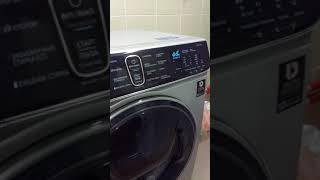 работа стиральной машины Samsung WW70K62E69S