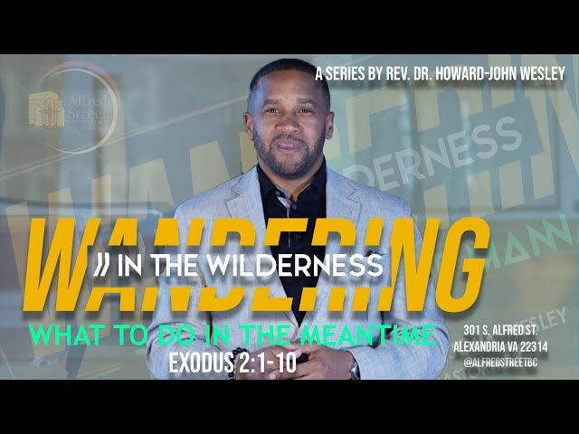 What to do in the Meantime: Wandering in the Wilderness (Pt. 5) Rev. Dr. Howard-John Wesley