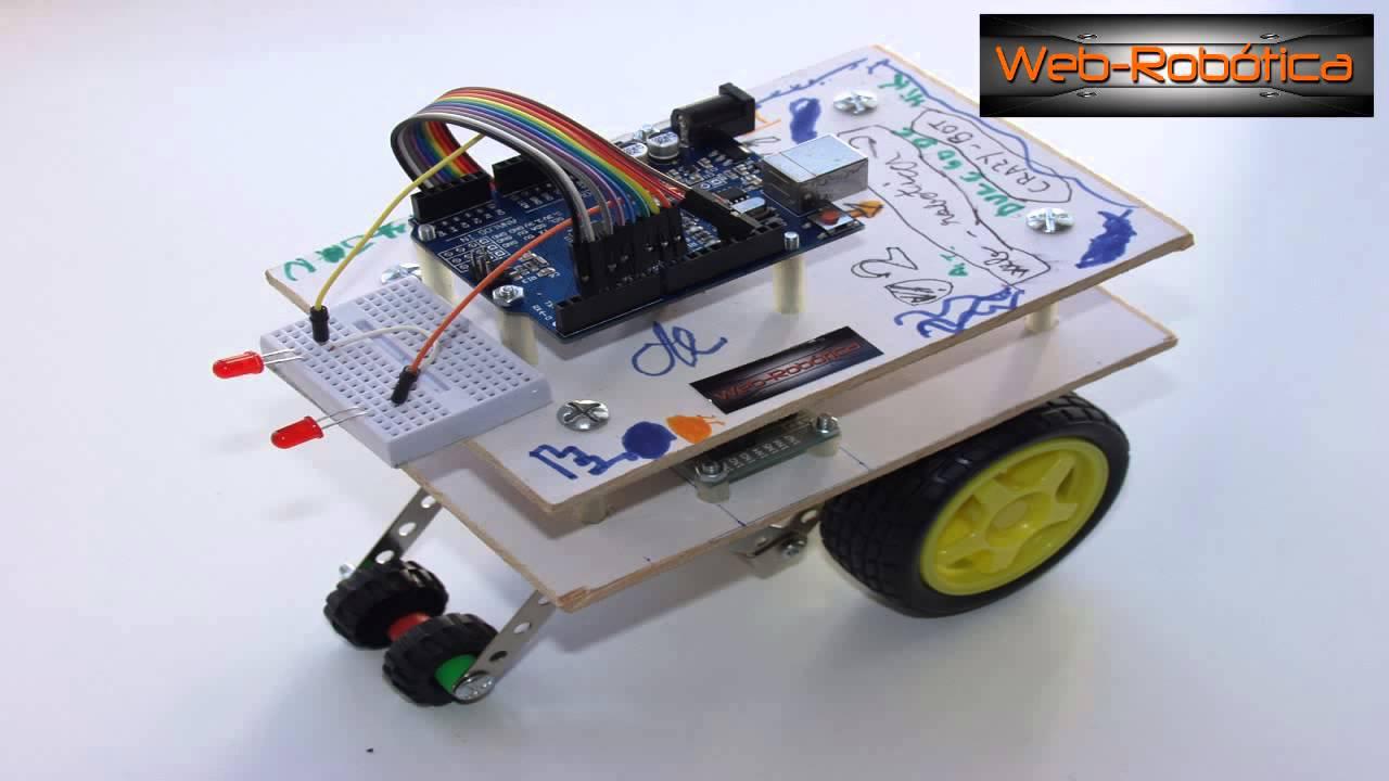 Tutorial robot arduino motor por pasos crazy bot paso a
