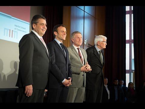 Gabriel | Macron | Habermas – Which future for Europe?