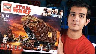 LEGO Star Wars - ПЕСЧАНЫЙ КРАУЛЕР - Набор На Обзор (75220)