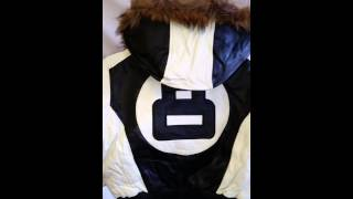 Kids 8 Ball Jacket Black and White