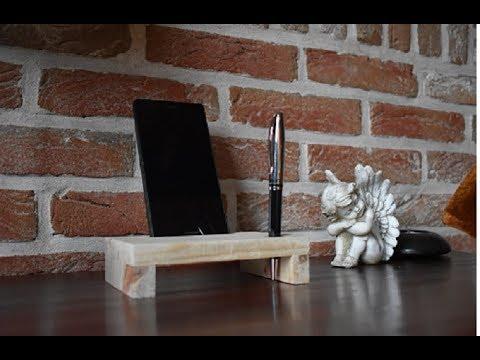 Fabriquer un support de téléphone pour bureau en bois de palette