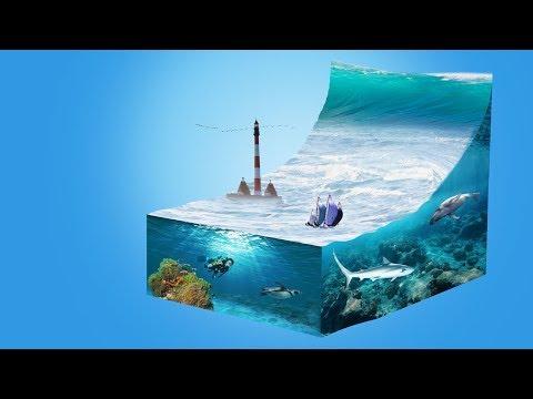 Tsunami Welle erstellen mit Photoshop