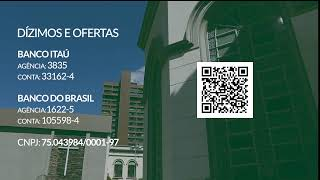 25/07/2021 - Culto 11h - Reverendo Juarez Marcondes Filho #LIVE