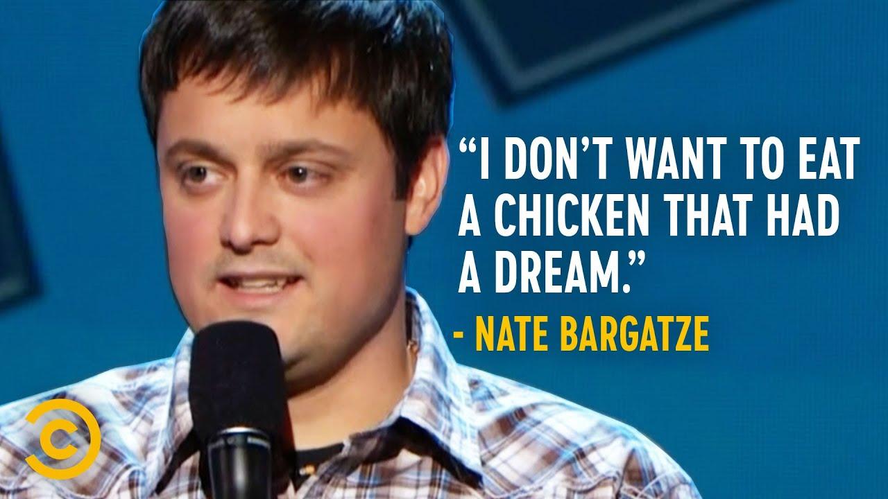 Nate Bargatze Isn't a Fan of Free-Range Chicken