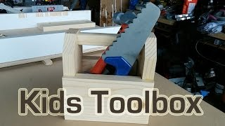 How To Make A Wood Toolbox For Kids