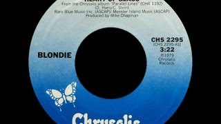 Blondie ~ Heart Of Glass 1979 Disco Purrfection Version Uncensored