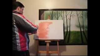 Pintura em tela passo a passo - Marcio Numer