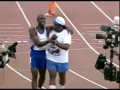 אחד הרגעים המרגשים בתולדות המשחקים האולימפיים!
