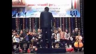 فرقة الفيوم للموسيقى العربيه -موسيقى رافت الهجان - مهرجان اغنيات النصر 6أكتوبر بنى سويف 2014