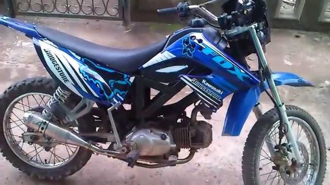 Hasil Modifikasi Motor Bebek Menjadi Trail YouTube