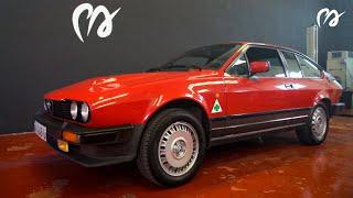 Alfa Romeo GTV6: Busso, transaxle, Giugiaro... una obra maestra [#POWERART - #USPI] S06-E07
