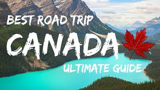Canadian Rockies Guide: Calgary To Vancouver Road Trip  2020  4k