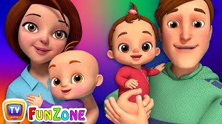 Baby, Mommy & Daddy Song  - ChuChu TV Funzone Nursery Rhymes & Songs for Kids