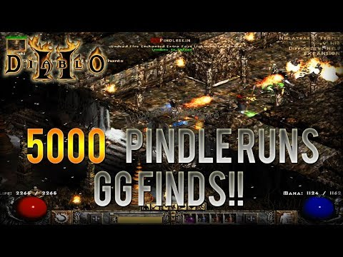 Diablo 2 - 5000 Pindle Runs!!! - Human Bot Project Ep.3