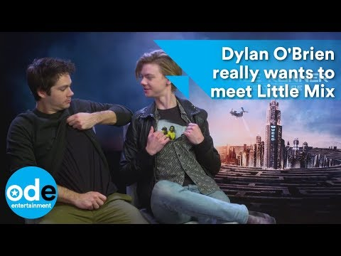 MAZE RUNNER: Dylan O'Brien really wants to meet Little Mix