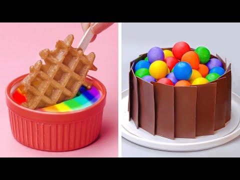 Easy Dessert Recipes | 10+ Awesome DIY Homemade Recipe Ideas by Tasty Plus | So Yummy Cake