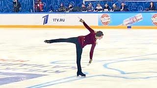 Dmitry Aliev Дмитрий Алиев Короткая программа 06 02 2021 Кубок Первого канала по фигурному катанию