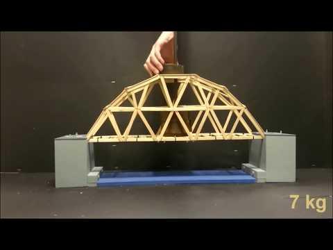 ULTIMATE Bridge Constructions - truss Bridges (break test) - How to build popsicle / icecream sticks