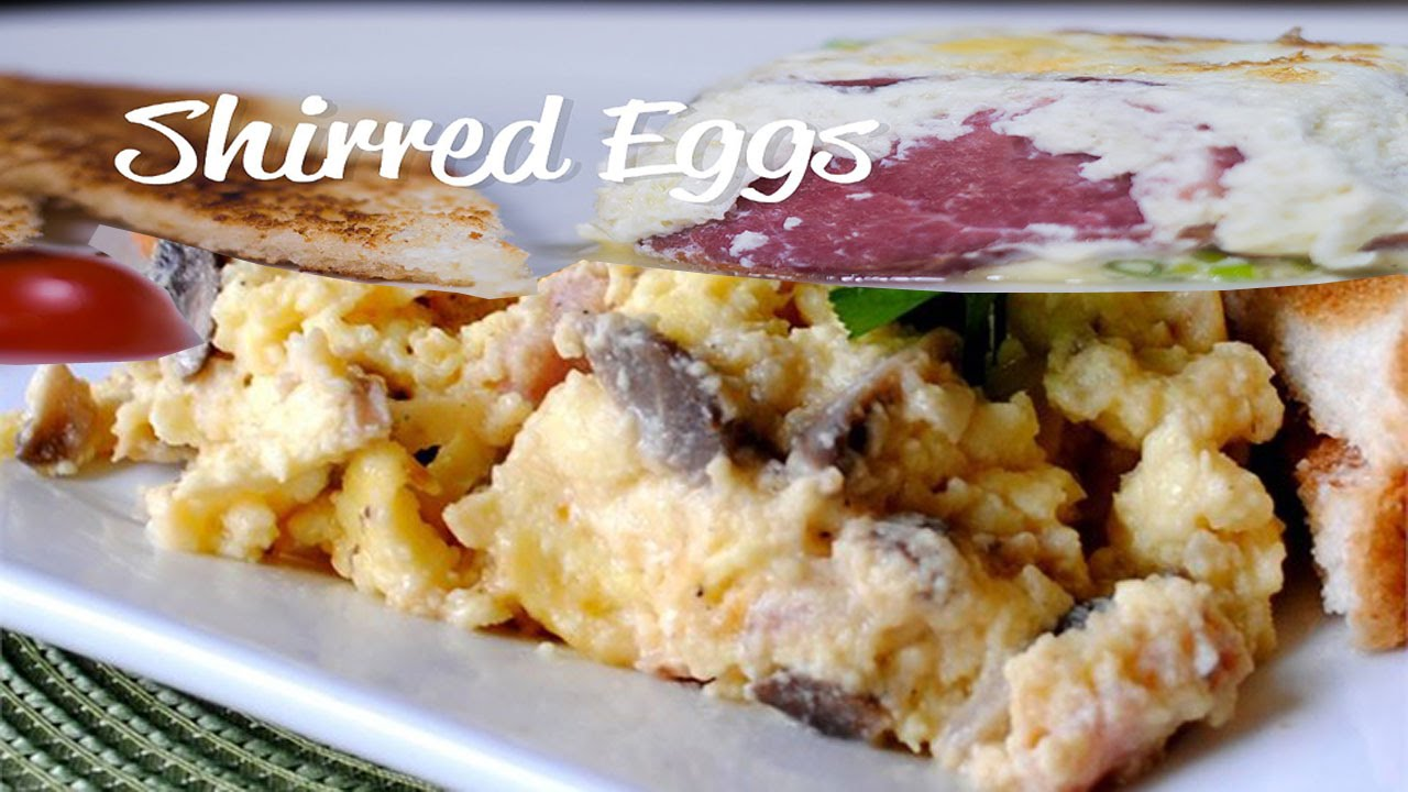 Shirred Eggs Recipe | Recipe Ideas - YouTube