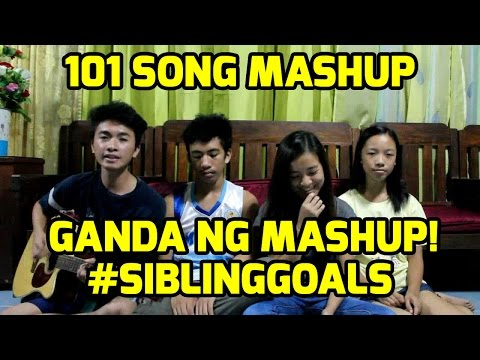 MASHUP: 101 SONGS! #SIBLINGGOALS