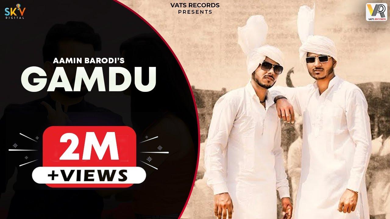 Gamdu (Full Video) | Aamin Barodi | Aman Barodi | New Haryanvi Songs Haryanavi 2021 | Vats Records