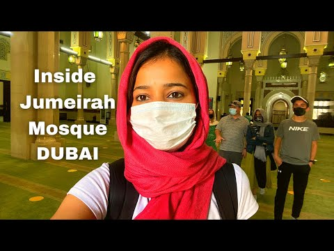 Jumeirah Grand Mosque Tour Dubai | Only Mosque open to Non Muslims| The Travel Psycho Videos |