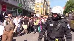 Turku ilman natseja -mielenosoitus 18.8.2018