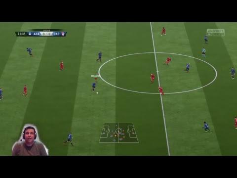 FIFA18 | NOVO MODO CARREIRA | ATALANTA DA MASSA |  X MILAN