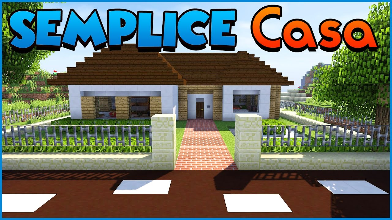 Favorito COME COSTRUIRE UNA CASA!! ➜ MINECRAFT ITA - YouTube YW64