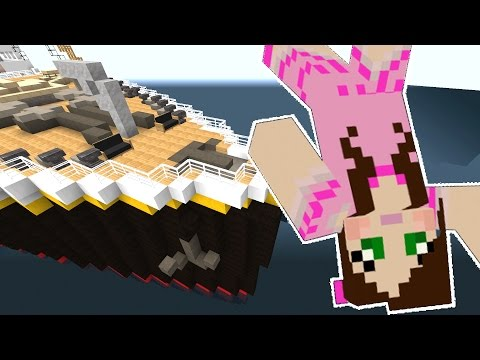 Minecraft: TITANIC MOVIE - SHE FELL OFF THE SHIP!!! - Custom Roleplay [3]
