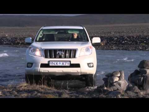 Toyota Land Cruiser in Iceland