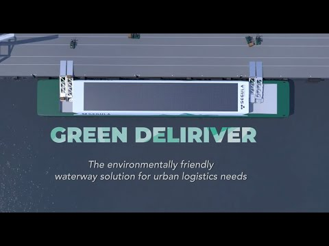 Green Deliriver project - a logistics and ecological, autnomous and connected solution