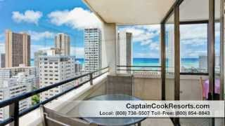 Waikiki Sky Tower 2303 - Vacation Rental on Oahu, Hawaii.