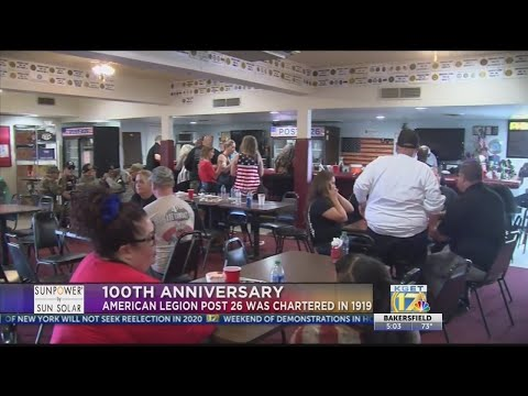 American Legion Post 26 Celebrates 100th Anniversary