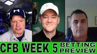 College Football Week 5 Picks and Predictions | Indiana vs Penn State | Cincinnati vs Notre Dame