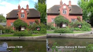 Nokia Lumia 1020 vs Samsung Galaxy K Zoom: video capture comparison and commentary