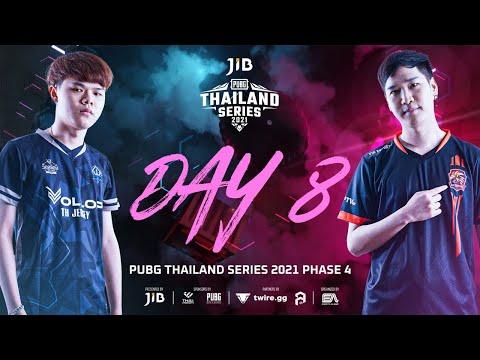 🔴 ไลฟ์สด! PUBG Thailand Series 2021 Road to PCS4 APAC (วันที่ 8)