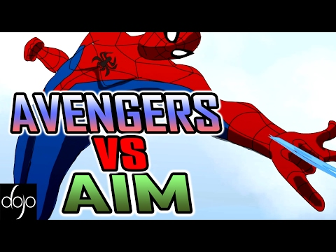 Avengers vs AIM - Marvel Superheroes Animation (by Psyder)
