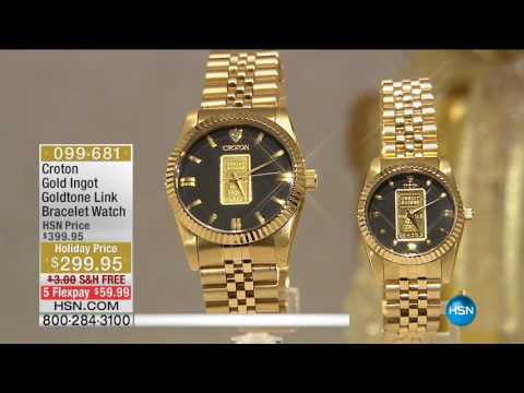 HSN | Paul Woods Presents: Croton Watch Gifts 11.30.2016 - 05 AM