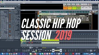 CLASSIC HIP HOP BEATMAKING SESSION - PROPELLERHEAD REASON 10.2 | 2019