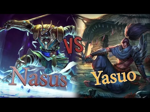 видео: Насус против Ясуо / Гайд на Насуса полная и интересная игра, Лига Легенд/ nasus vs yasuo