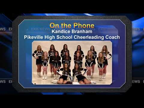 Pikeville High School cheerleaders win third consecutive championship
