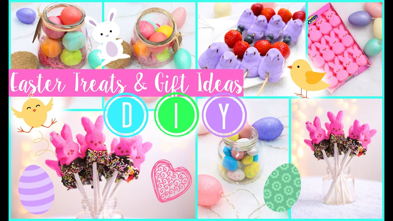 Diy easter treats gift ideas youtube diy easter treats gift ideas negle