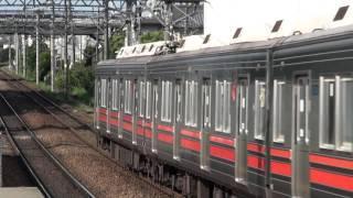 東急8590系 8694F通過@田奈