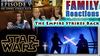 STAR WARS | Episode 5 | The Empire Strikes Back | FAMILY Reactions | Fair Use