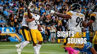 Mic'd Up Sights & Sounds: Win over Los Angeles Chargers | Pittsburgh Steelers