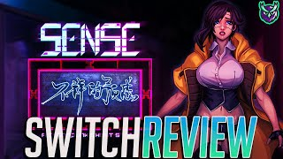 Sense - A Cyberpunk Ghost Story Switch Review (Video Game Video Review)